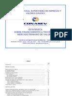CONASEV - Guìa Bàsica-Financiamiento en el Mercado Primario