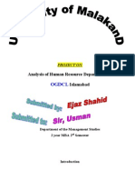 Ej2 HR Project on OGDCL