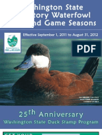 2011 WA Waterfowl Regulations