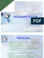 DESHIDRATACION EMG