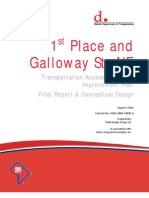 1st Place & Galloway Street NE - Final Report