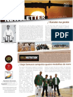 Newsletter Dojo Samurai Agosto 2011