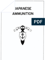 Japanese Ammunition - US Navy Bomb Disposal School - July 1945
