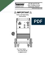 Manual de la Fire Power 260