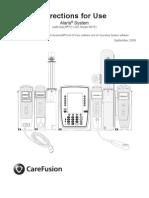 Alaris System DFU Model 8015 092009
