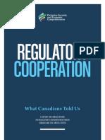 Regulatory Cooperation Report