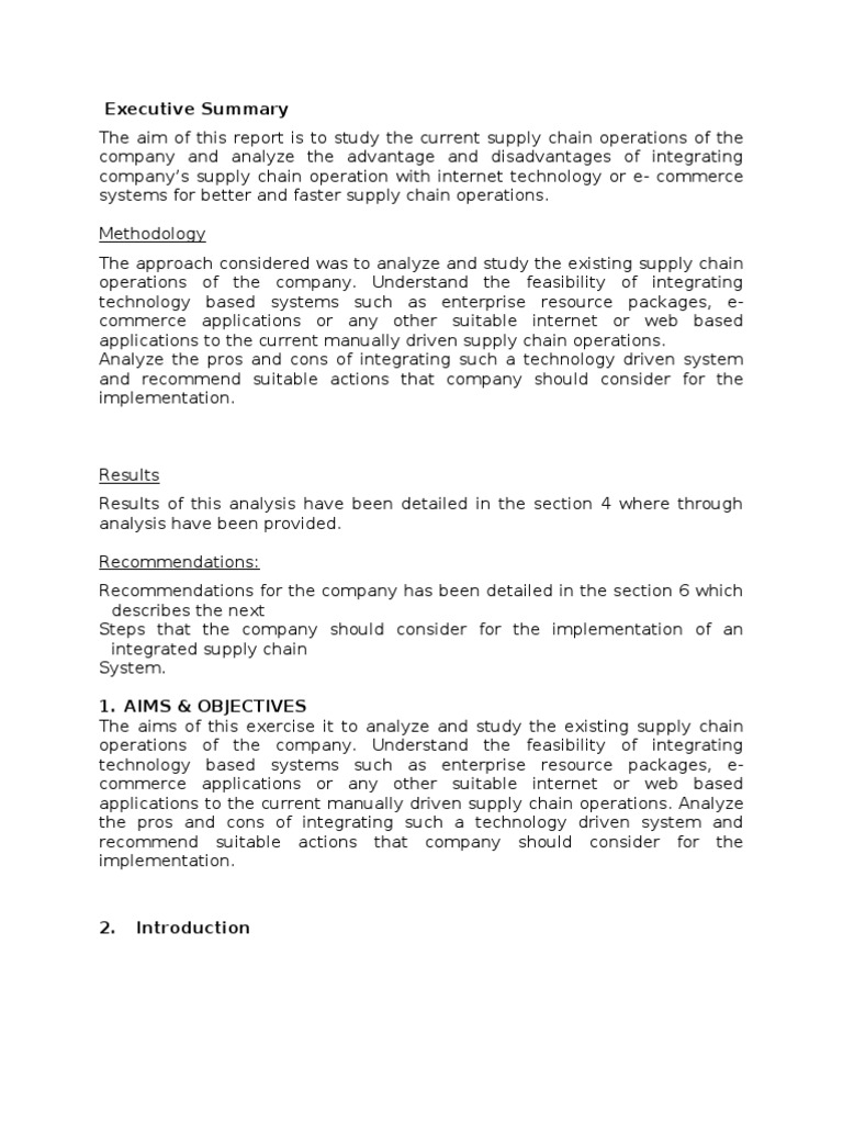 Phd thesis on scm