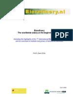 Biorefinery_The Worldwide Status at the Beginning of 2006