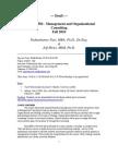 UT Dallas Syllabus for bps6360.501.11f taught by Padmakumar Nair (pxn031000)