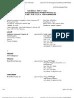 INDEMNITY INSURANCE COMPANY OF NORTH AMERICA v. EF TRUCKING LLC et al Docket