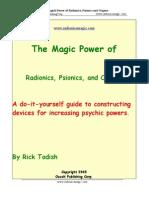 Magic of Radionics