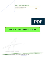 Présentation AGRICAF (Juillet 2011)