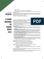 Resolução da Prova do ENEM cancelada- 2009