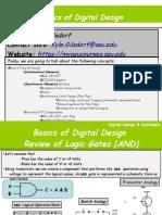 VHDL_00 - Basics of Digital Design