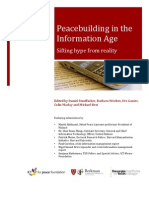 Peace Building in the Information Age Sifting Hype From Reality