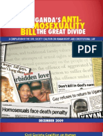 Uganda Anti-Homosexuality Bill briefing