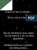 A Que Te Leo La Mente[1]
