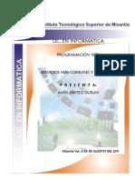 Amin Mateo DuranServicios más comunes y el puerto que utilizan