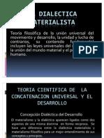 La Dialectic A Materialist A