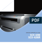 Samsung SCX 4200 Manual