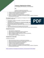 Estructura y Organizacion de Datos Unidad I