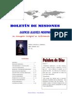 Boletín de Misiones 29-08-2011 Alianza Misionera