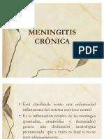 MENINGITIS CRÓNICA