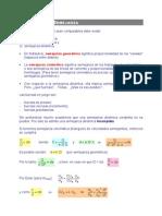 T.3.Fórmulas de Semejanza