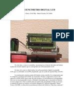 Frecuencimetro Digital Lcd