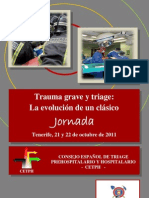 Documentación Jornada de Trauma Grave y Triage