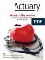The Actuary August 2011