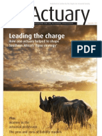 The Actuary Sept 2011