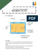 Regulamento Futsal 2011-2012