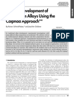 Focused Development of Magnesium Alloys Using the Calphad Approach