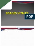 EDADES VITALES