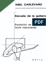 Carlevaro Abel Escuela de La Guitarra Exposicic3b3n de La Teorc3ada Instrumental Ocr