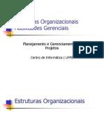 Aula 2 - Estruturas Organizacionais (Sem Alteracao