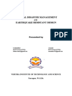 Natural Disaster Management and Earthquake Resistant Design