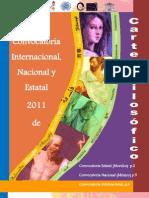 Convocatoria Internacional, Nacional y Estatal de Cartel Filosófico 2011