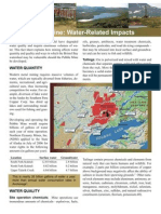 pebble water impacts