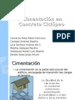 Cimentación en Concreto Ciclópeo