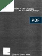 Introduccion a La Musica Electroacustica