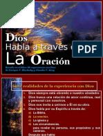 011 Dios Habla a Traves de La Oracion