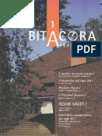 1999b-Bitácora Arquitectura-01; Paul Gendrop y Alejandro Villalobos