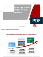 Introduction RTN 600 V100R003 Hybrid Hardware