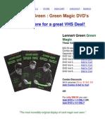 Lennart Green Magic Card Tricks