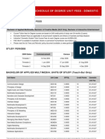 2578 Schedule Domestic Fees Degree