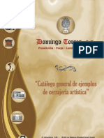 Catálogo Rejas de Domingo Torres S.L.