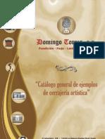 Catálogo Trabajos Varios Cerrajería de Domingo Torres S.L.