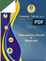 Catálogo Luz y Decoración (1ª Parte) de Domingo Torres S.L.
